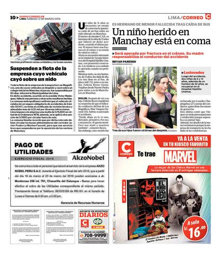 Avisos Legales Utilidades Ojo Correo La Republica Comercio Peru21