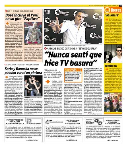 Avisos Legales Utilidades Ojo Correo La Republica El Comercio Peru21